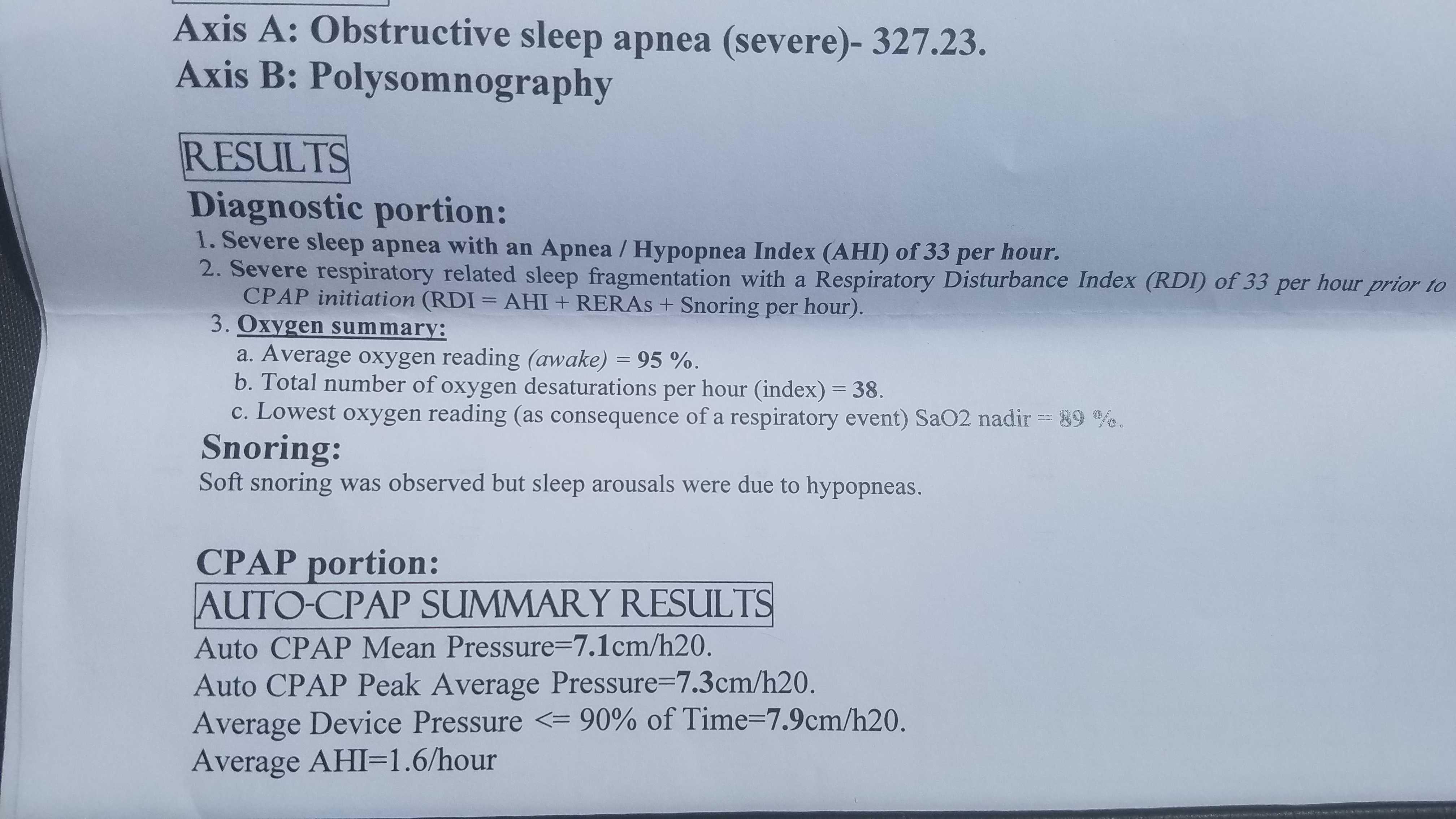 Can Sleep Apnea Be Reversed? Results From My Sleep Study